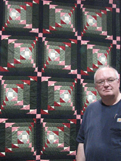 Smitty at Quilt Show